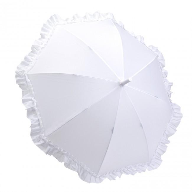 Детски чадър, Бели къдрици