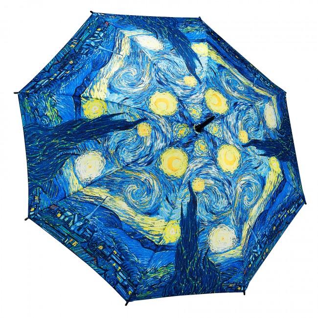 Звездна нощ на Ван Гог, прав
