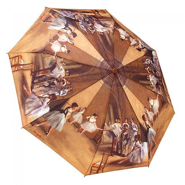 Сгъваем чадър, Уроци по балет на Дега