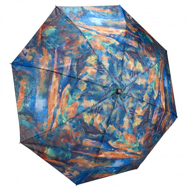 "Сгъваем чадър, ""Потока"", Пол Сезан"