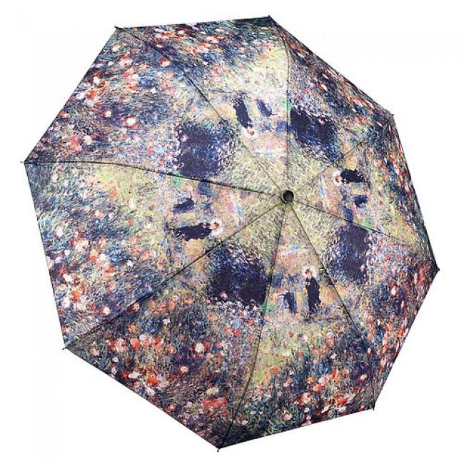 """Сгъваем чадър, """"Жената с чадъра в градината"""", Реноар"""
