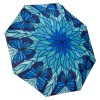 Сгъваем чадър, Стъклопис сини пеперуди