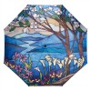 Сгъваем чадър, Пейзаж, стъклопис