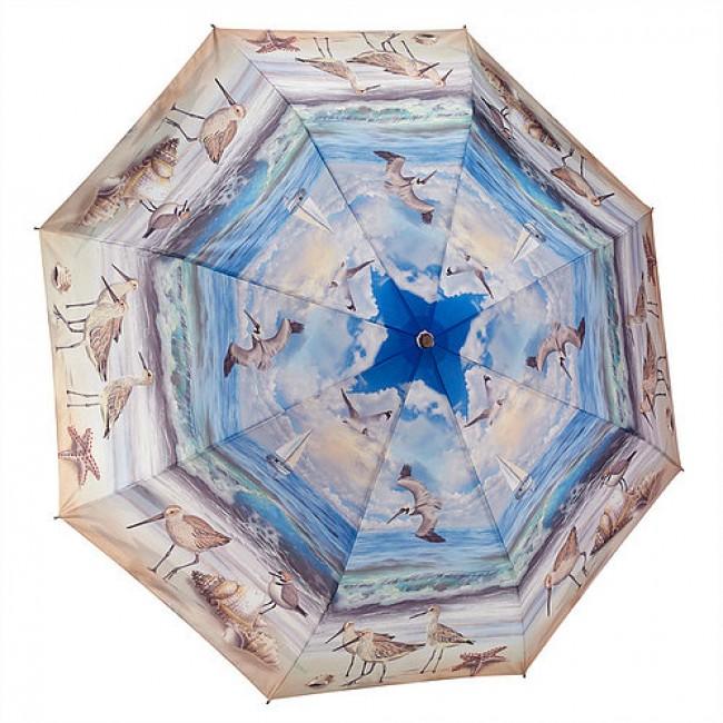 Сгъваем чадър, Плажна сцена