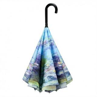 Водни лилии на Моне, прав, обратнозатваряем чадър