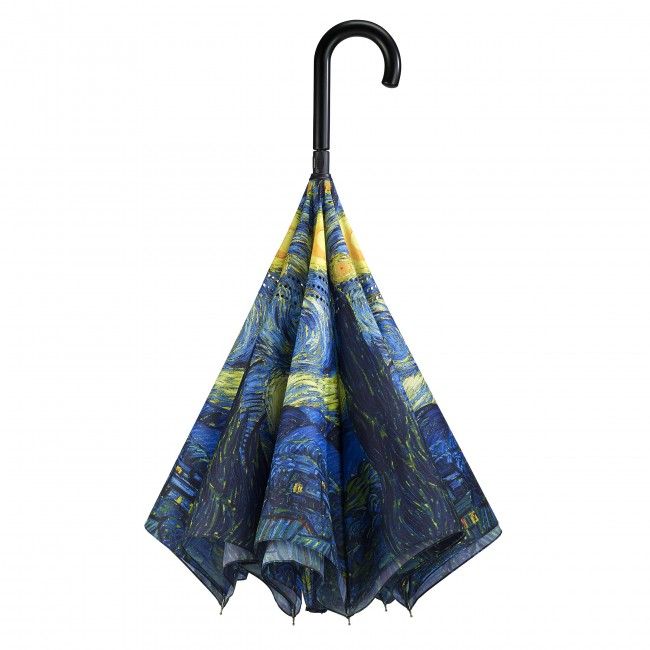 Звездна нощ на Ван Гог, прав, обратнозатваряем чадър