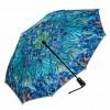 Ириси на Ван Гог, сгъваем, обратнозатваряем чадър
