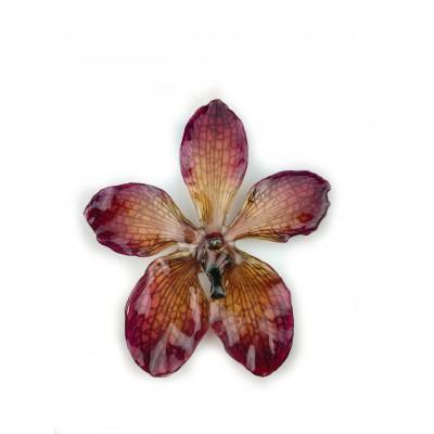 Медальон Орхидея Мокара, лилава