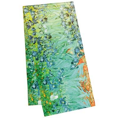Дълъг шал, Ириси на Ван Гог