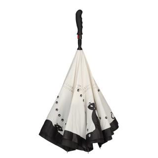 Черни котета, прав, обратнозатваряем чадър