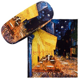 Калъф за очила, Тераса на нощно кафене, Ван Гог