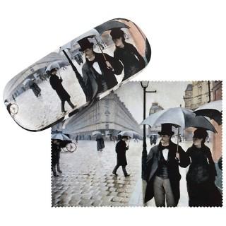 Калъф за очила, Парижки улици на Густав Калейбо