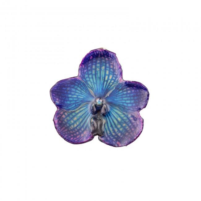 Медальон Орхидея Ванда, лилава