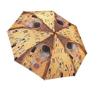 """Сгъваем чадър, """"Целувката"""" на Климт"""