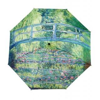 Сгъваем чадър, Японски мост на Клод Моне