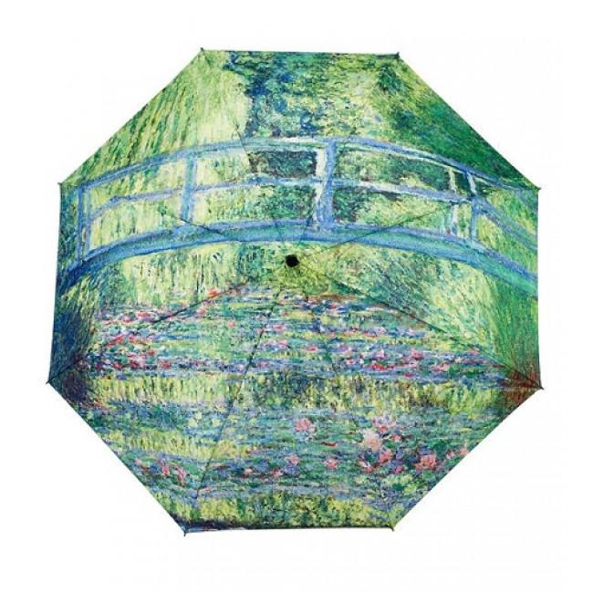 """Сгъваем чадър, """"Японски мост"""" на Клод Моне"""