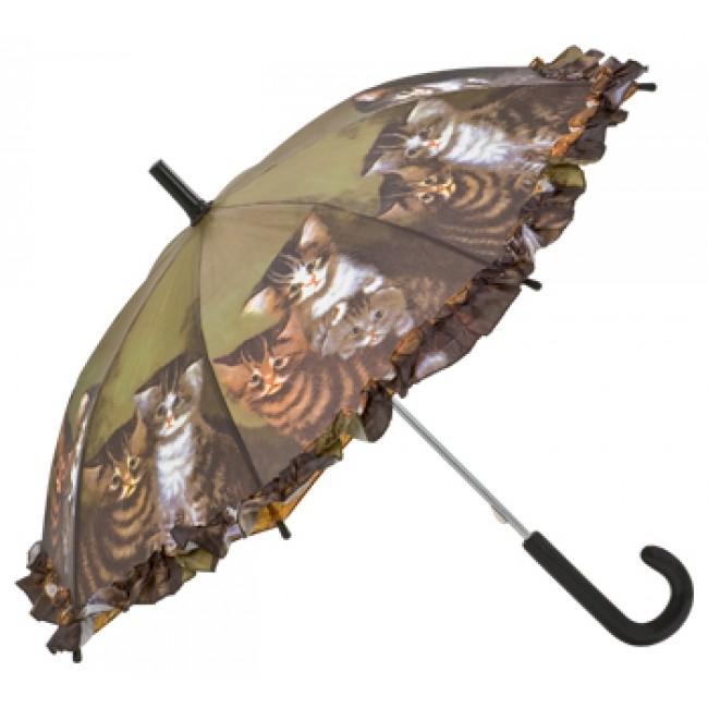 Детски чадър, Котенца