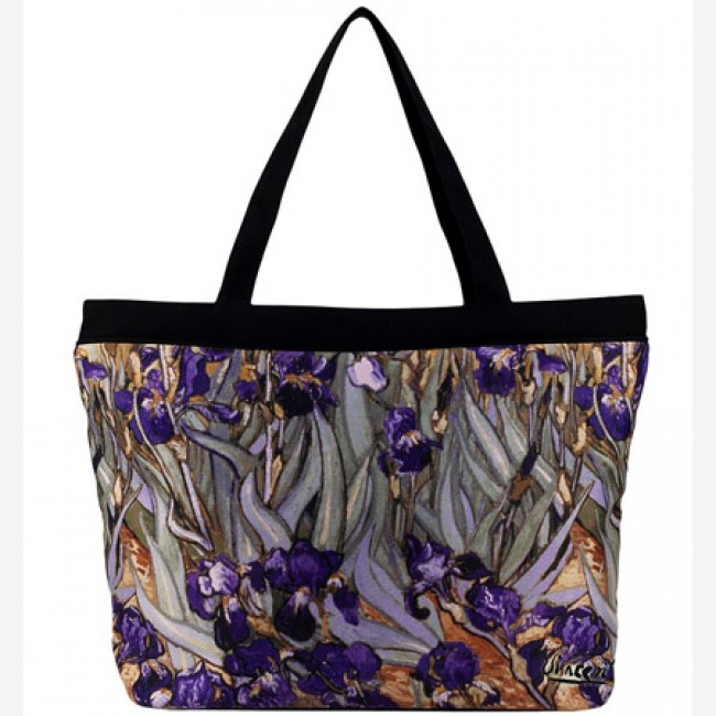 Дамска чанта, Ирисите на Ван Гог