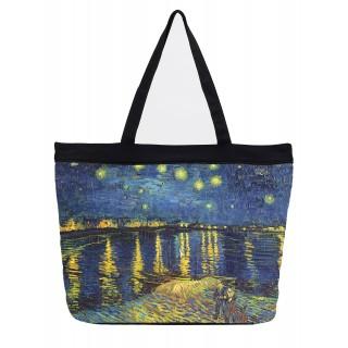 Дамска чанта, над Рейн на Ван Гог