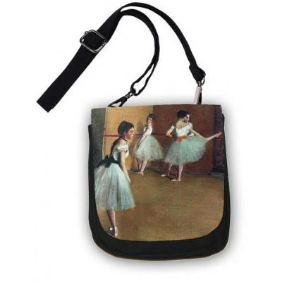 Чантичка през рамо, Уроци по балет на Дега