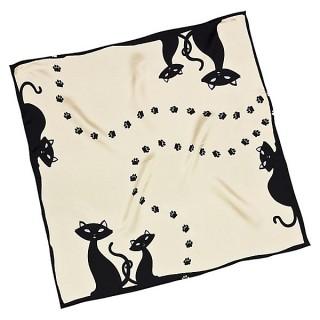 Копринен шал, Черни котета, квадрат