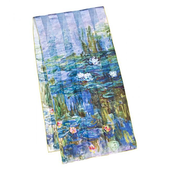 Дълъг шал, Водните лилии на Моне