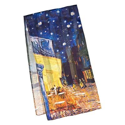 Дълъг шал, Нощно кафене на Ван Гог