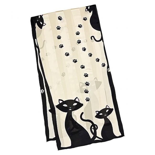 Дълъг шал, Черни котета