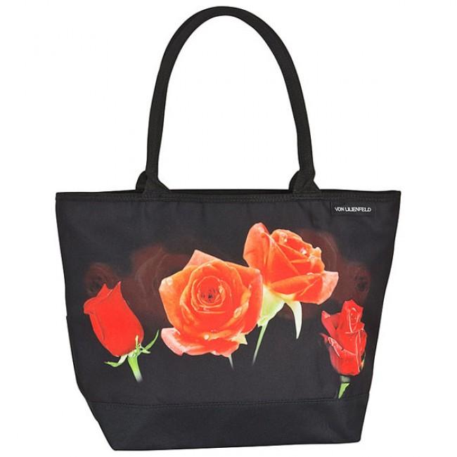 Чанта,  Букет от рози в черно