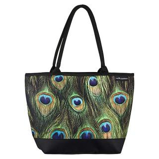 Чанта,  Паунови пера